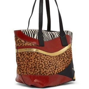 Marc Jacobs Animal Patchwork Wingman Tote